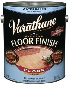 Varathane Diamond Water Base Floor Finish